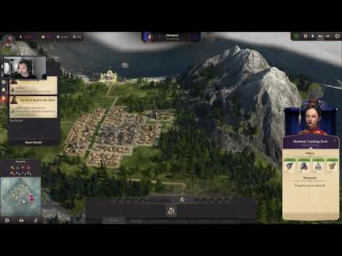 Lets play Anno 1800! Chapter 3 here we come. #Anno1800 |