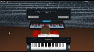 U.N. Owen Was Her - Touhou 6 by: ZUN on a ROBLOX piano. [Right hand]