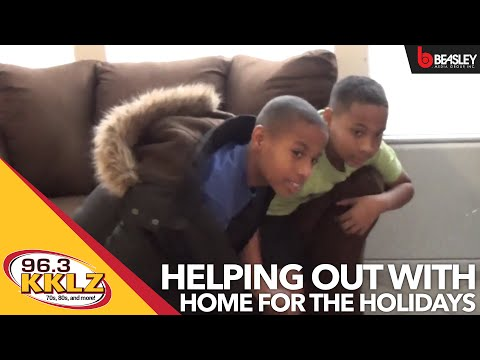 96.3 KKLZ helps out with Home For The Holidays