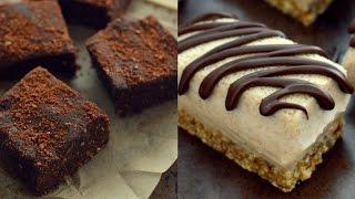 3 Vegan No Bake Desserts (Gluten Free)