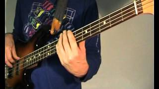 Creedence Clearwater Revival - Proud Mary - Bass Cover