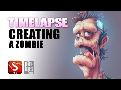 Autodesk Sketchbook Pro Timelapse : Creating A Zombie