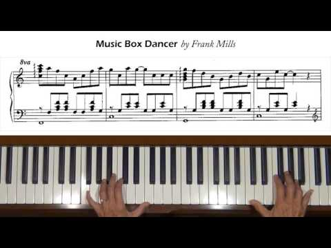 Music Box Dancer Frank Mills Piano Tutorial