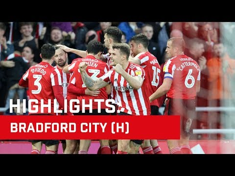 Highlights: Sunderland v Bradford