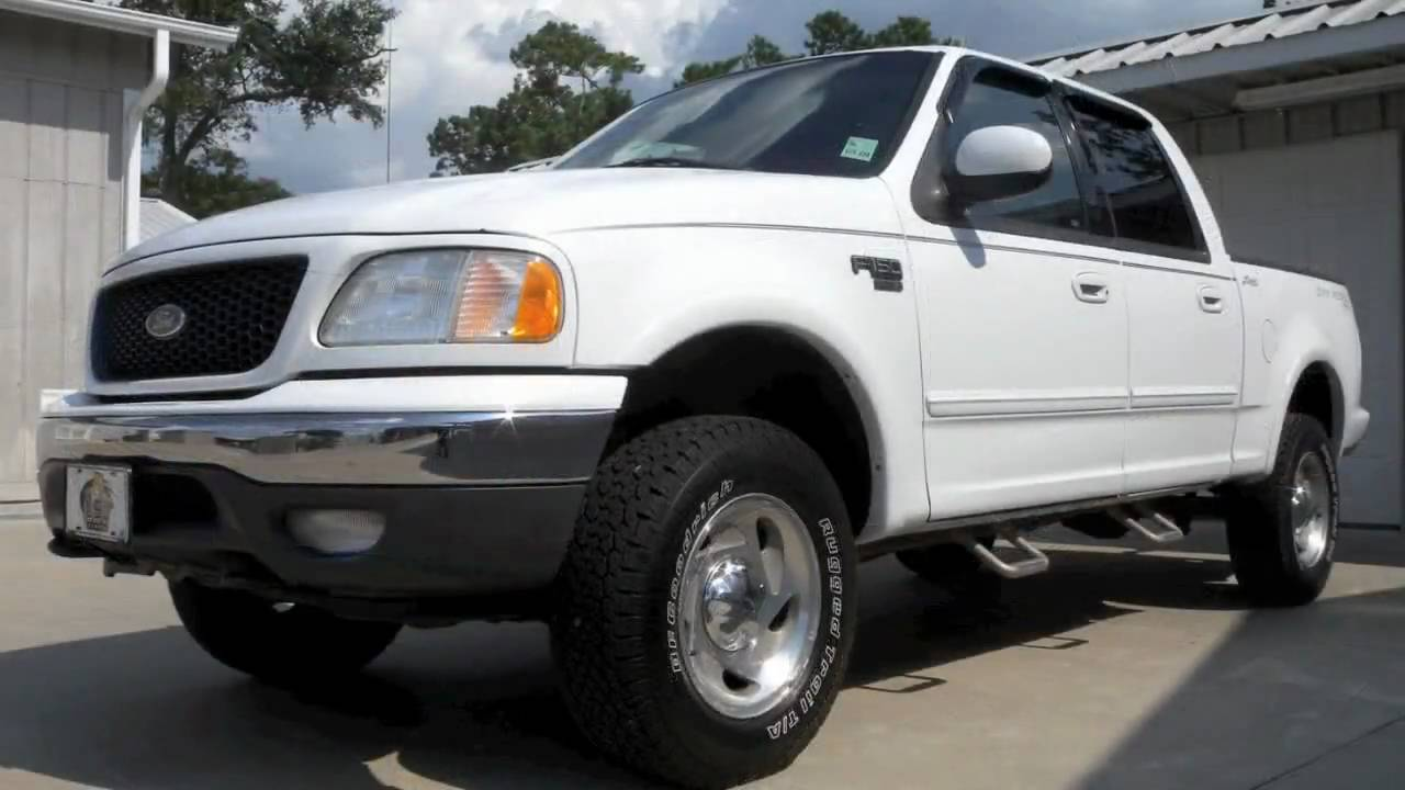 2001 F150 Supercrew >> ***SOLD*** 2001 Ford F150 SuperCrew Lariat 4x4 by Select