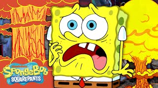 Every Time Bikini Bottom Was Destroyed! | SpongeBob