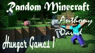 First Minecraft Video: Hunger Games!!