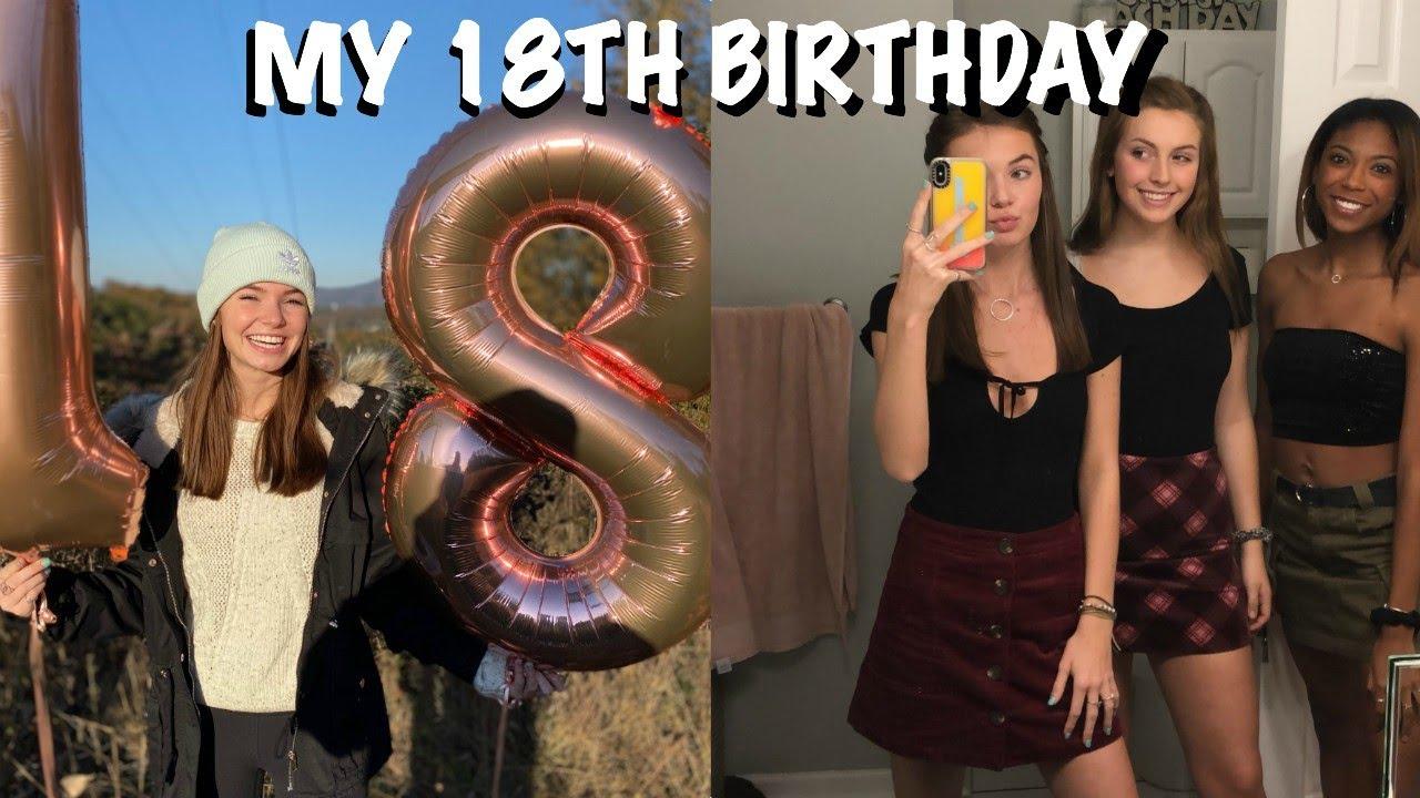 18th Birthday Photoshoot - YouTube