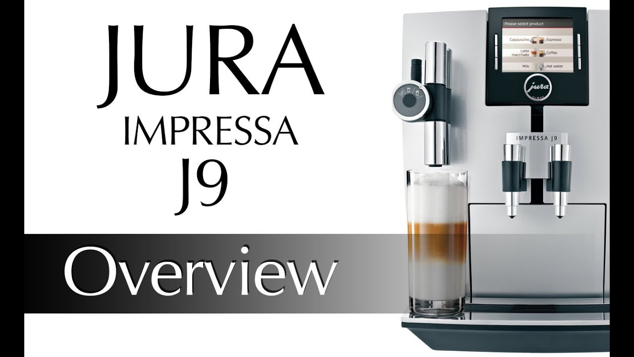 jura j9 tft one touch cappuccino centre preview youtube. Black Bedroom Furniture Sets. Home Design Ideas