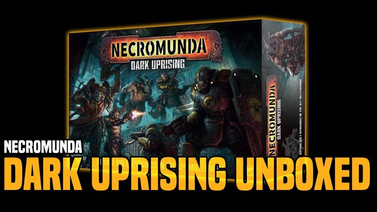 BoLS Unboxing | Necromunda Dark Uprising | Games Workshop by