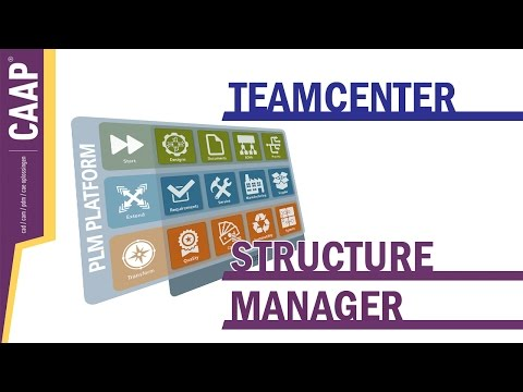 TeamCenter - Structure Manager, Transformation matrices, Datasets export, Check-in/Check-out