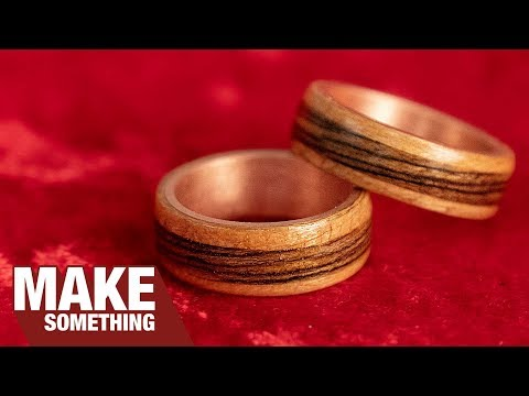 How to Make Copper and Wood Wedding Rings