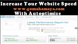 Autoptimize Settings WordPress Plugins Tutorial | Increase WordPress Website Speed