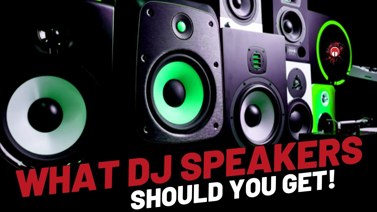 Recommended speakers for home, house parties and events Image