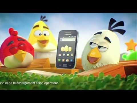 Pub Samsung Galaxy Ace - Angry Birds