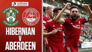 Hibernian 1-2 Aberdeen | Wilson gives Aberdeen win over Hibernian! | Ladbrokes Premiership