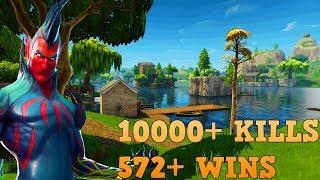 572+ WINS | 10000+ KILLS | PRO PLAYER [PS4] | VBUCKS GIVEAWAY! | FORTNITE BATTLE ROYALE