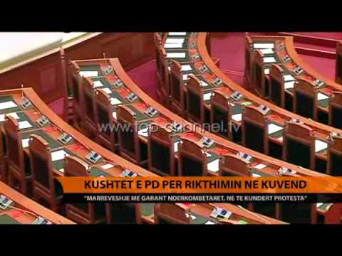 Kushtet e PD për rikthimin në Kuvend - Top Channel Albania - News - Lajme