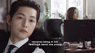 Download lagu vincenzo being in his feelings about cha young for almost 6 minutes straight [+1x20] FMV