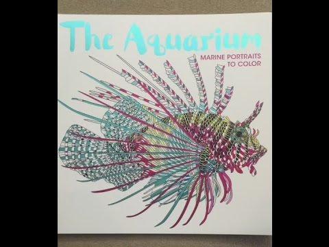 The Aquarium: Marine Portraits to Color flip through