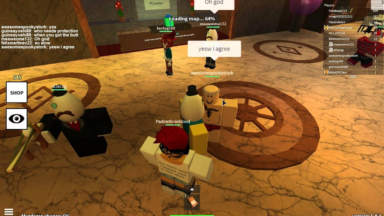 Roblox Egg Hunt 2015 [The Murder Part 1] Ayy Chappo!