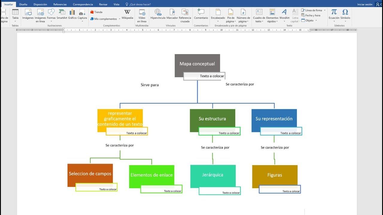 Crear Un Mapa Conceptual.Como Hacer Un Mapa Conceptual En Word 2020 Youtube