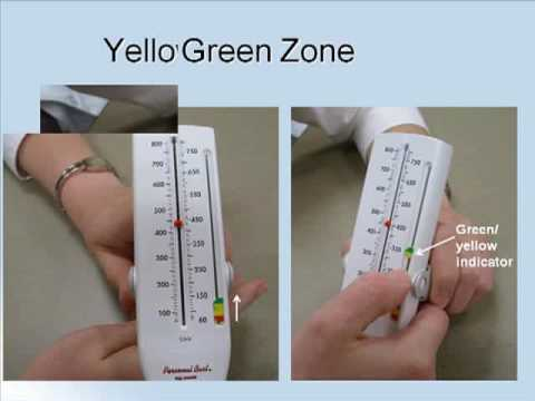 Using A Peak Flow Meter - Youtube