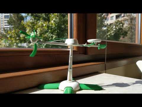 HTC U11, 4K, Toy plane in motion, Solar Kit 6in1, Toys for Sun, JAMARA, Lidl