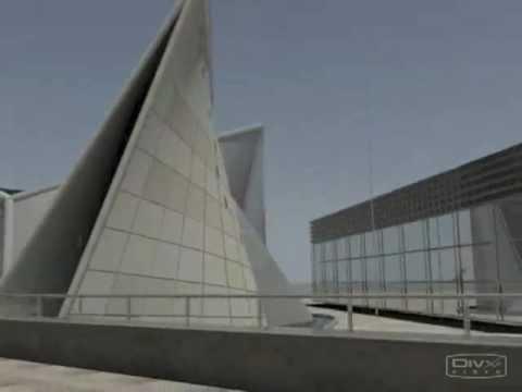 philips pavilion autodesk 3ds Max