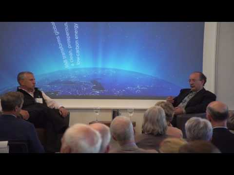 Amory Lovins and Tom Friedman at RMI's Energy Innovation Summit | Rocky Mountain Institute