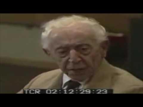 Arthur Rubinstein - Piano Master Class - Chopin Ballade No. 1