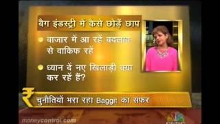 Baggit CEO & MD, Mrs Nina Lekhi at CNBC Awaaz Entrepreneur Thumbnail