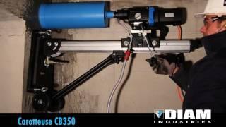 CAROTTEUSE Ø350MM MAX 220V vidéo