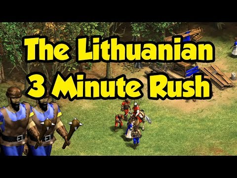The Lithuanian 3 Minute Rush