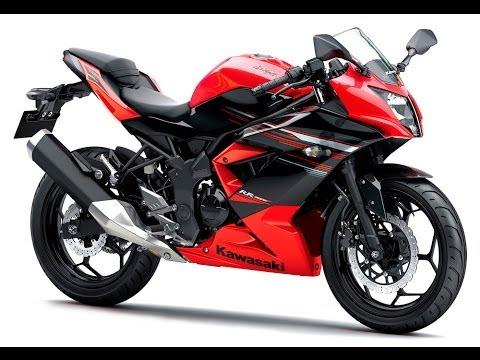 Gambar Motor Kawasaki Ninja Warna Kuning