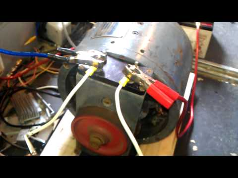 BiG DC motor on 24 volts!!