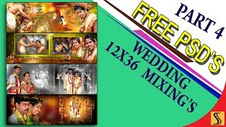 PART 4]Free Download Wedding 12x36 PSD Templates  Fully Editable For Photoshop[ss free psd]#190