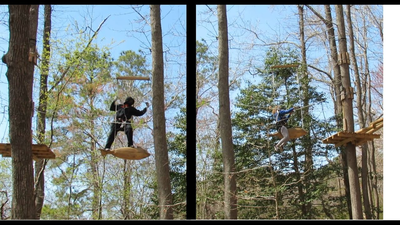 Virginia Beach 20 Of 41 Adventure Park Funny Zip Line Ride The Expert And Beginner