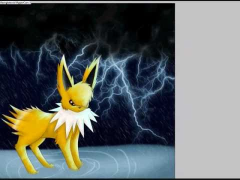 Tyson (TysonJolteon) .Song of Storms. Speedpaint