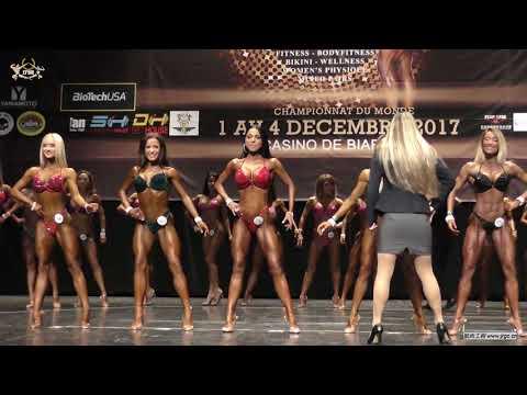 IFBB 2017 World Fitness Championships Bikini 1