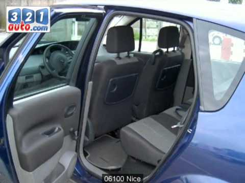 occasion renault scenic ii nice youtube. Black Bedroom Furniture Sets. Home Design Ideas