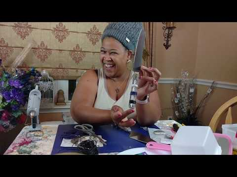 DIY Glam Leather Wedding Cake Knife And Server VlogTober 5