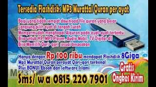 08152207901 (INDOSAT) MP3 Al Quran Per Ayat