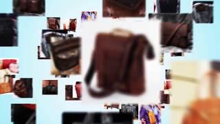 Обзор итальянской мужской сумки через плечо Tuscany TL141408 в цвете brown