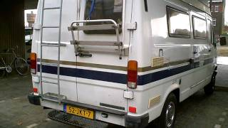 1982 Mercedes Benz 307 D James Cook camper by Westfalia