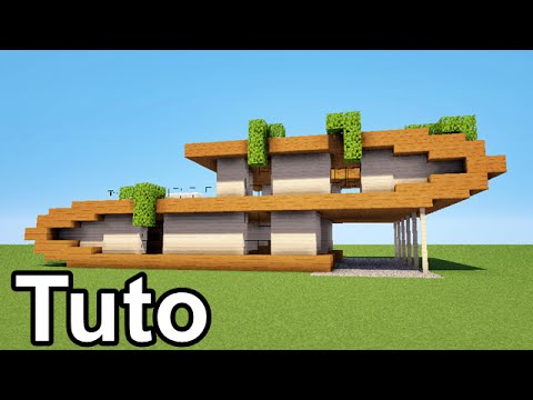 Minecraft comment faire une maison moderne download youtube - Comment faire une maison moderne minecraft ...