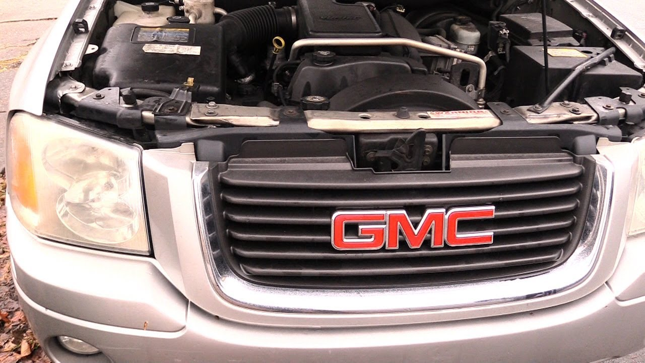 medium resolution of gmc envoy headlight and bulb change easy same for most years