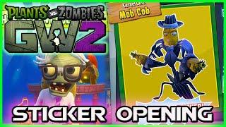 Plants vs Zombies Garden Warfare 2 Part 1 STICKER OPENING  SUPER RARE CHARACTERS!   PvZGW2 part 1