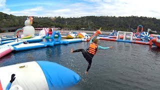 Super Fun Human Launcher at Inflatable Island Subic