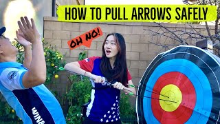 How to Pull Arrows Safely: Arc…